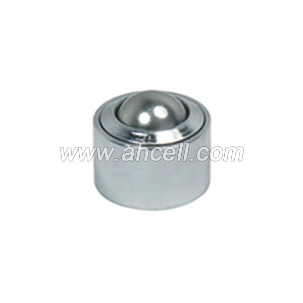 KSM-15 45kg capacity Press Drop-in Solid Steel Ball Transfer Unit