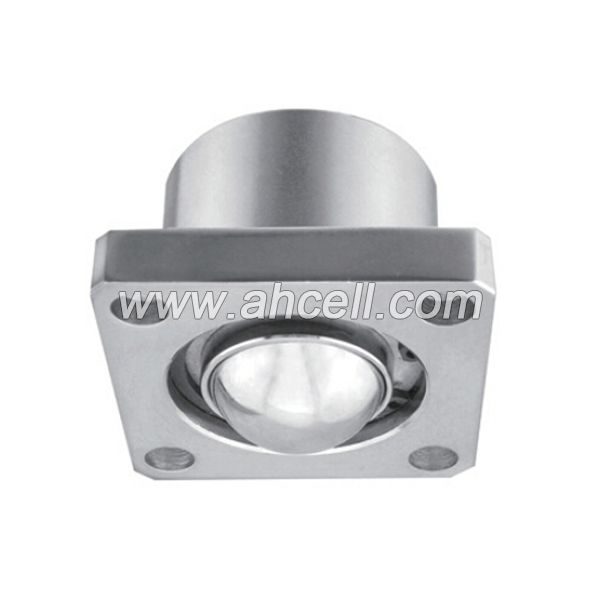 UK-76 Flange Mount Solid Steel Down Facing Ball Transfer Unit